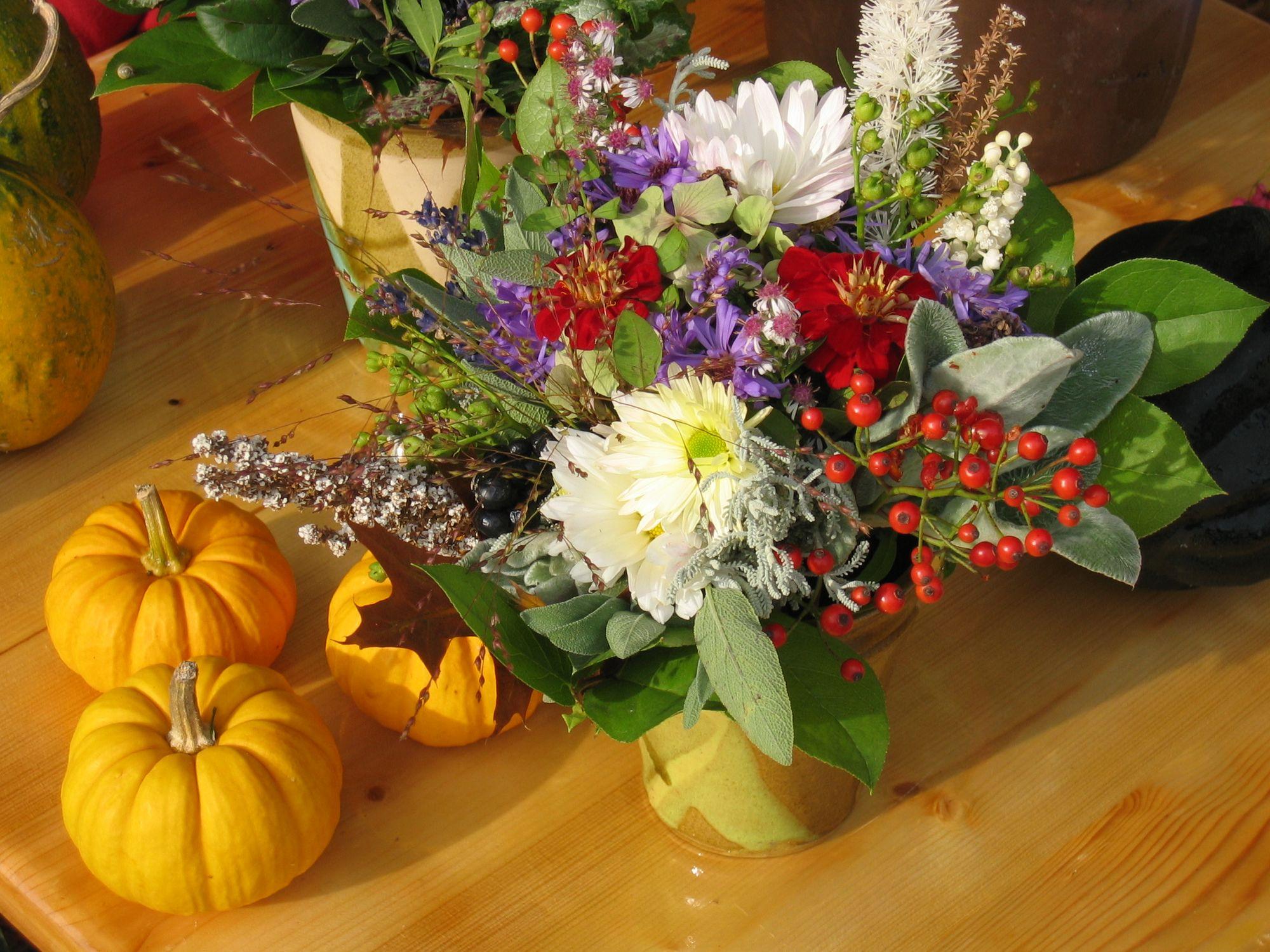 Tischdeko Herbst vom Florist in Berlin