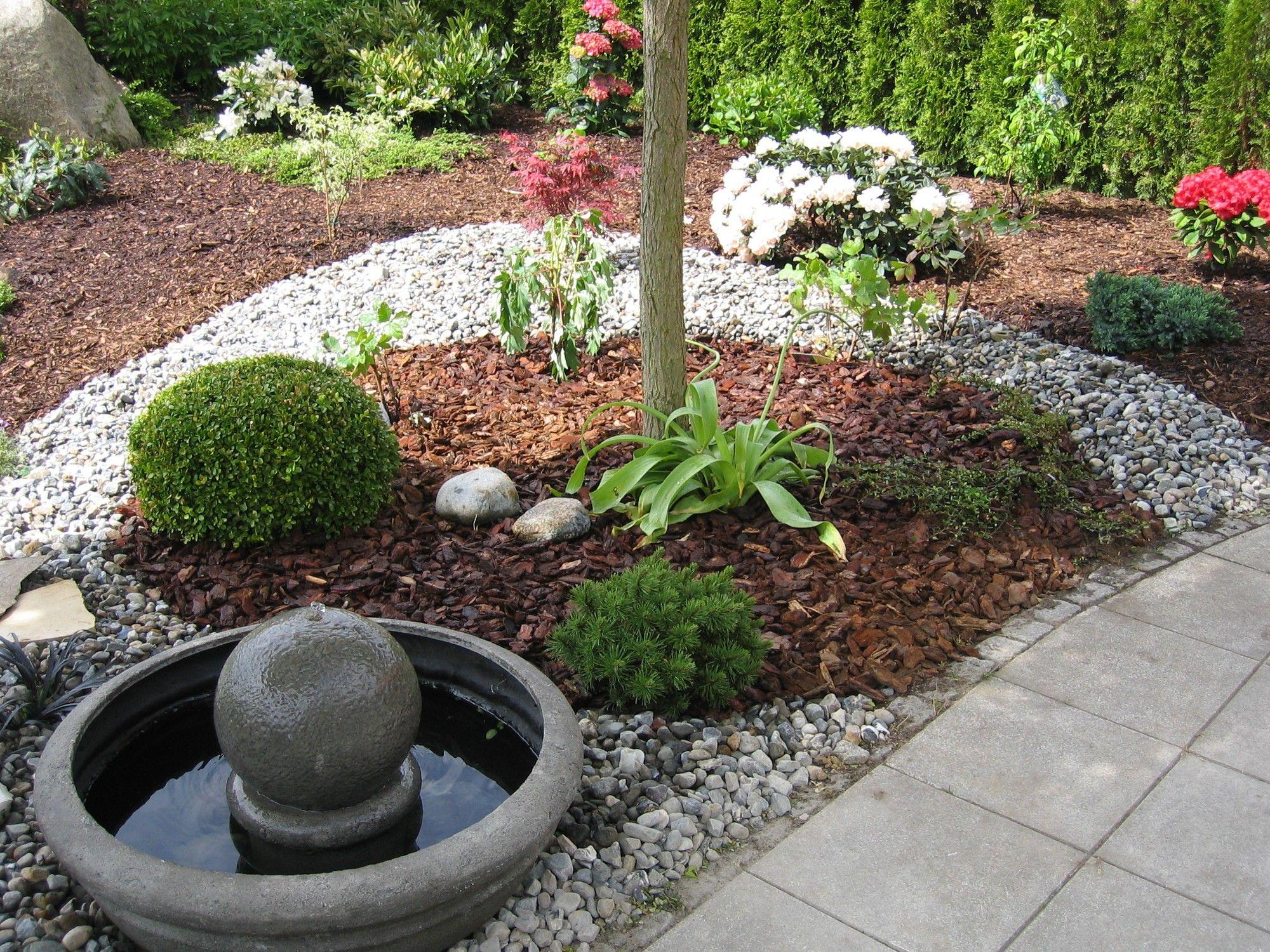 Von der Unkrautrabatte zum pflegeleichten Steingarten: Garten durch moderne Gestaltung aufwerten