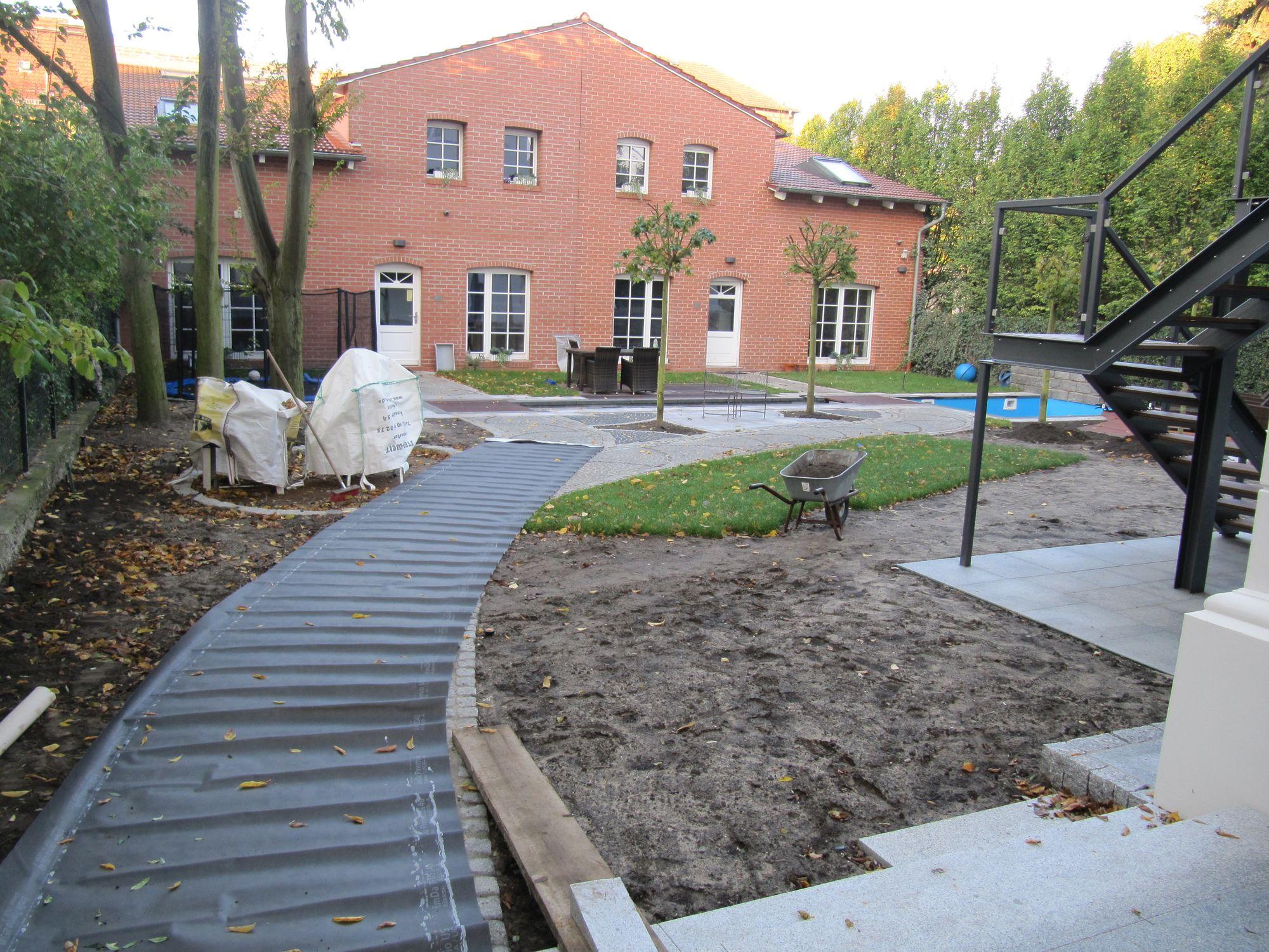 Garten mit Freizeitflächen für die ganze Familie