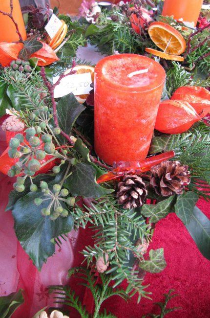 Bastelwerkstatt, Gartenseminare und kreativ Workshops für Kinder und Erwachsene in der GartenWerkstatt Berlin Ideen für Weihnachtsdeko